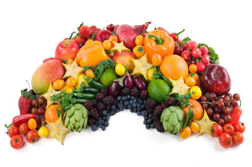 An edible rainbow of fresh vegetables to boost your immunity. Justine Evans