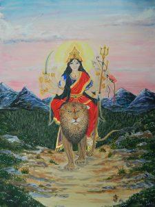 Durga Shakti Goddess